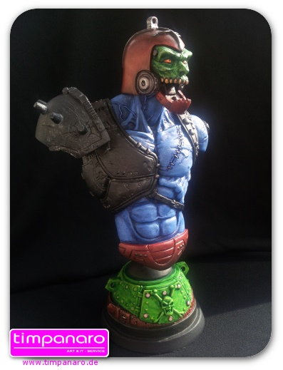 Trap Jaw Custombüste Paintjob